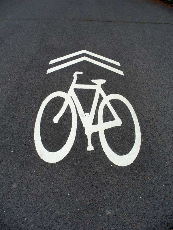 MooScience: bike lane symbol